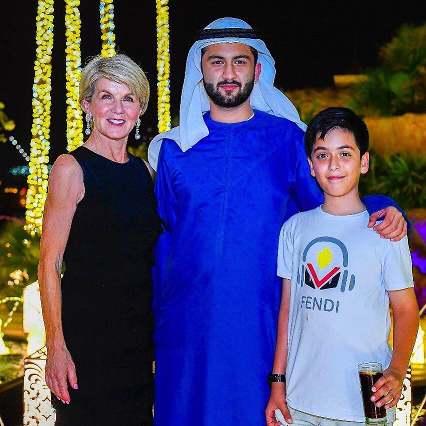 With Julie Bishop, Former Minister for Foreign Affairs, Australia