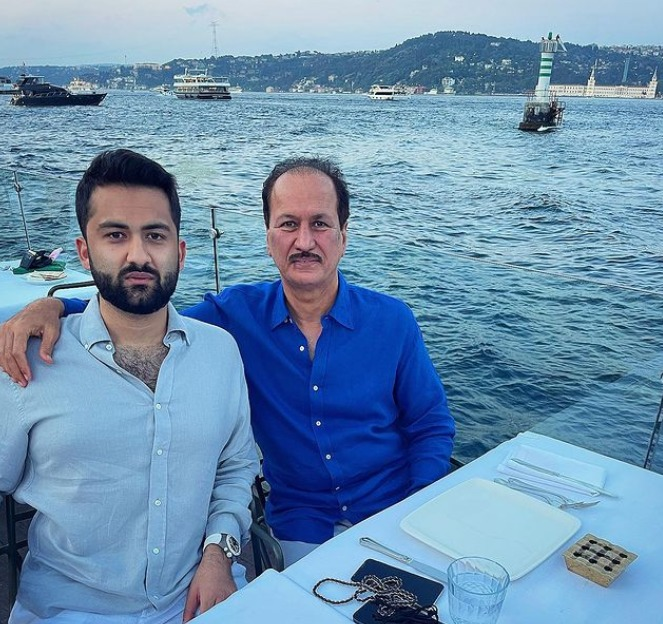 Enjoying the best time with my father, mentor and idol